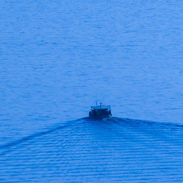Fine Art Print - A boat sailing at the Argolic Gulf near Astros, Arcadia, Peloponnese