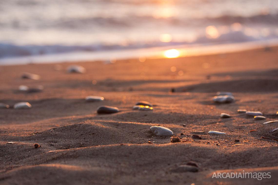 Elaia beach. Messenia, Peloponnese, Greece