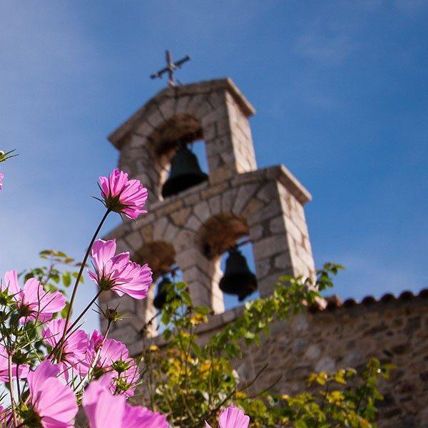 Aghios Nicholas at Kaltezon monastery. Arcadia, Peloponnese